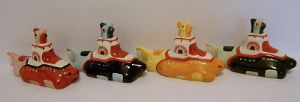 Bairstow Manor Beatles Submarine Collection - 4 pieces - SOLD